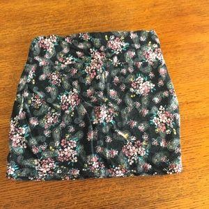 Floral Mini Skirt (pick 3 for $24 bundle)